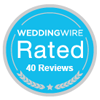 Check out our WeddingWire Reviews!