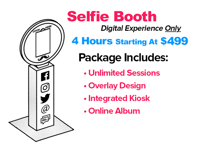 Seattle Photo Booths - Selfie Booth